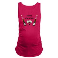Happy New Year Maternity Tank Top
