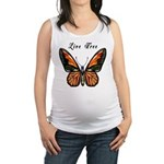 Butterfly Live Free Maternity Tank Top