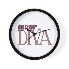 Inner DIVA Wall Clock