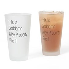 Alley Property #2 Drinking Glass