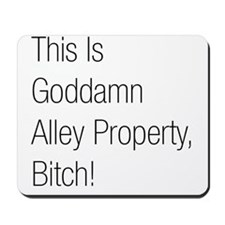 Alley Property #2 Mousepad