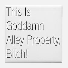 Alley Property #2 Tile Coaster
