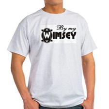 By My Wimsey Ash Grey T-Shirt