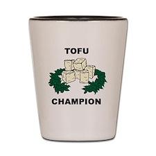 Tofu Champion Shot Glass