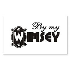 By My Wimsey Rectangle Decal