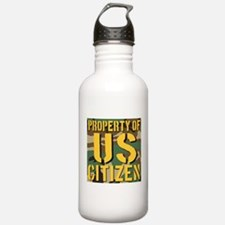 Property of US Citizen Water Bottle