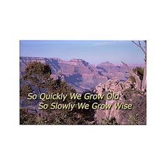 Grand Canyon Scene with Inspire Cliche
