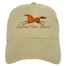 Chestnut Mare, Beware! Baseball Cap