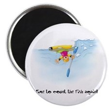 Kayak Capers 12 Magnet