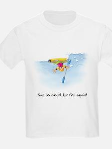 Kayak Capers 12 Kids T-Shirt
