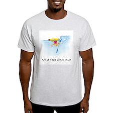 Kayak Capers 12 Ash Grey T-Shirt
