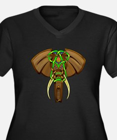 Indian Elephant Goddess Proportioned T-Shirt