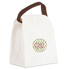 Cute Grandchildren Canvas Lunch Bag