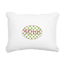 Funny Mimi Rectangular Canvas Pillow
