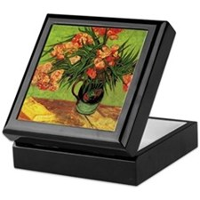Van Gogh; Still Life Vase with Oleand Keepsake Box