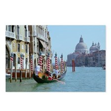 The Grande Canal in Italy Postcards (Package of 8)
