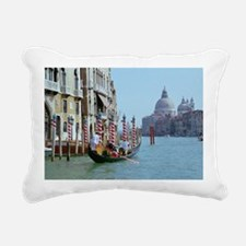 The Grande Canal in Ital Rectangular Canvas Pillow