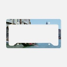 The Grande Canal in Italy Ven License Plate Holder