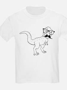 Hipster T-rex T-Shirt