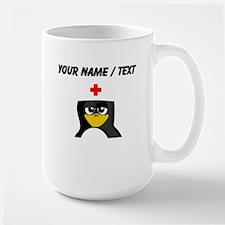 Custom Nurse Penguin Mug
