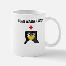Custom Nurse Penguin Small Mug