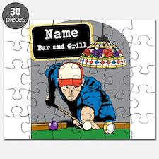 Personalized Mens Billiards Puzzle