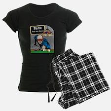 Personalized Mens Billiards Pajamas