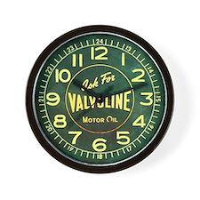 Valvoline Vintage Dieselpunk Wall Clock
