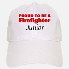 Proud Junior: Firefighter Baseball Baseball Cap