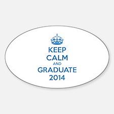Keep calm and graduate 2014 Decal