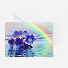 Forget me nots Greeting Cards (Pk of 20)