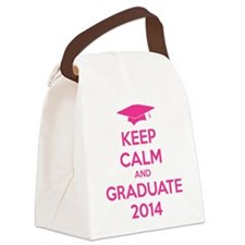Keep calm and graduate 2014 Canvas Lunch Bag