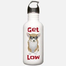 Get Low with Corgis Water Bottle