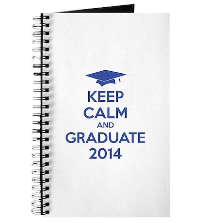 Keep calm and graduate 2014 Journal