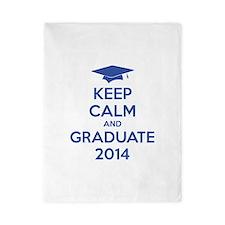 Keep calm and graduate 2014 Twin Duvet