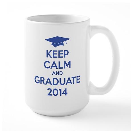 Keep calm and graduate 2014 Large Mug