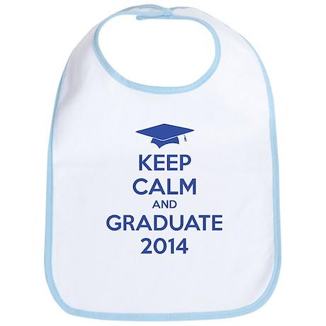 Keep calm and graduate 2014 Bib