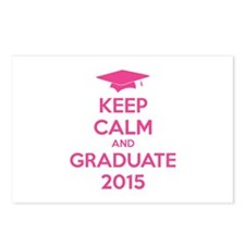 Keep calm and graduate 2015 Postcards (Package of