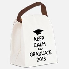 Keep calm and graduate 2016 Canvas Lunch Bag