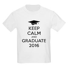 Keep calm and graduate 2016 T-Shirt