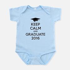 Keep calm and graduate 2016 Infant Bodysuit