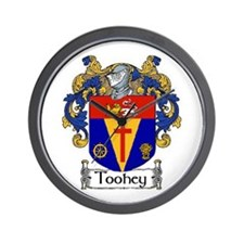 Toohey Coat of Arms Wall Clock