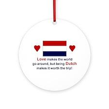 Dutch Love Keepsake Ornament