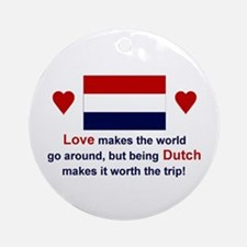 Dutch Love Keepsake Ornament