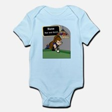 Personalized Womens Billiards Infant Bodysuit