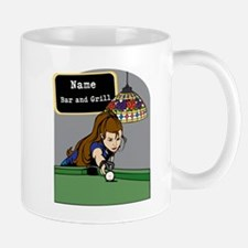 Personalized Womens Billiards Mug