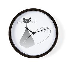 Stella Cat 8 Wall Clock