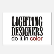 Lighting Designers Do it in C Postcards (Package o