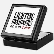 Lighting Designers Do it in C Keepsake Box