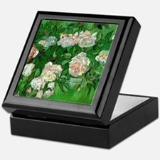 Pink Roses by Vincent van Gogh Keepsake Box